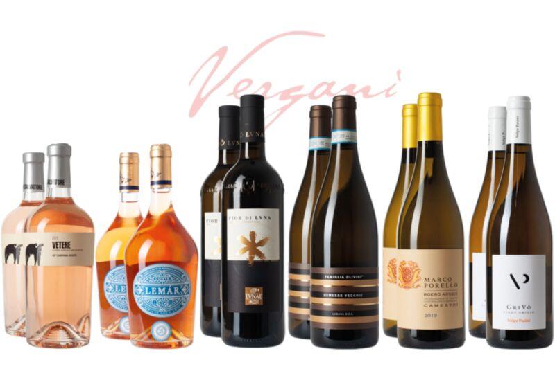 12er Sommer Weinset mit Gutschein Piazza geschenkt
