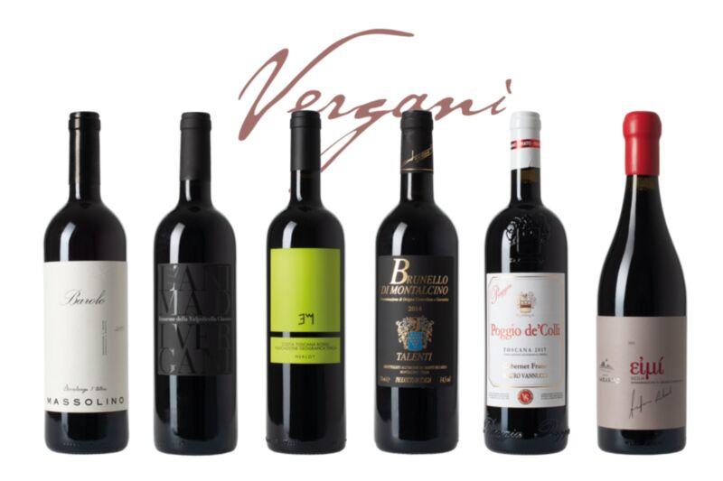 6er Weinset mit Gutschein Accademia geschenkt