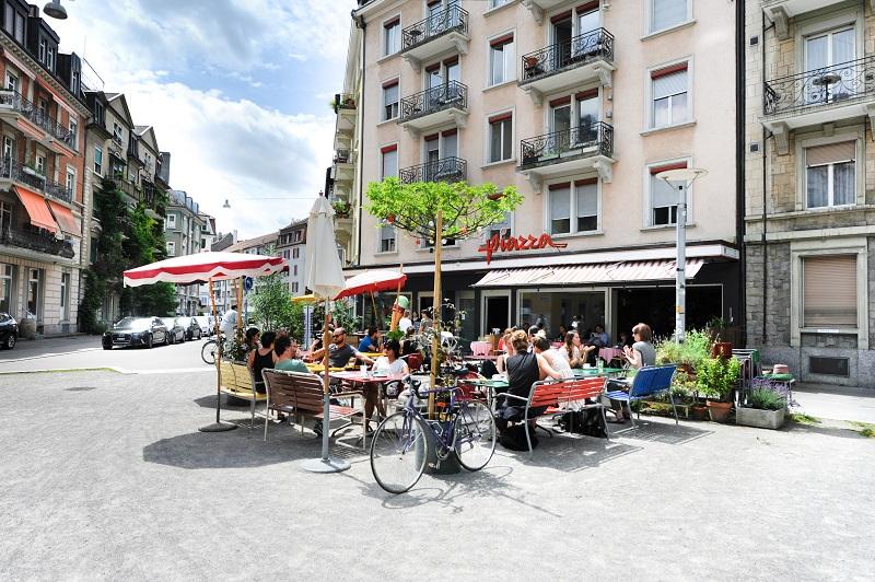 Piazza - Zürich Kreis 3